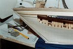 Unfinished hull